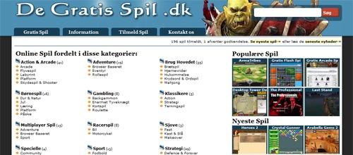 DeGratisSpil.dk – Gratis spil