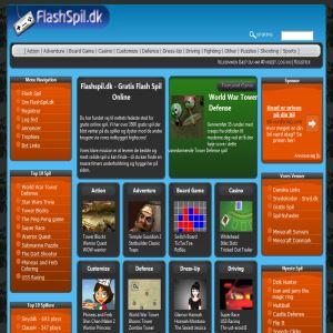 Nyt Flash Spil site lanceret