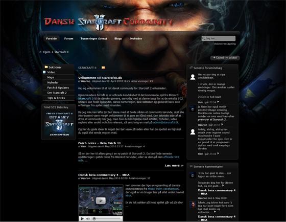 Starcraft 2 - starcraftii.dk