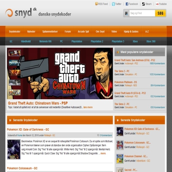 Redesign af Snyd.dk – Allround opdatering